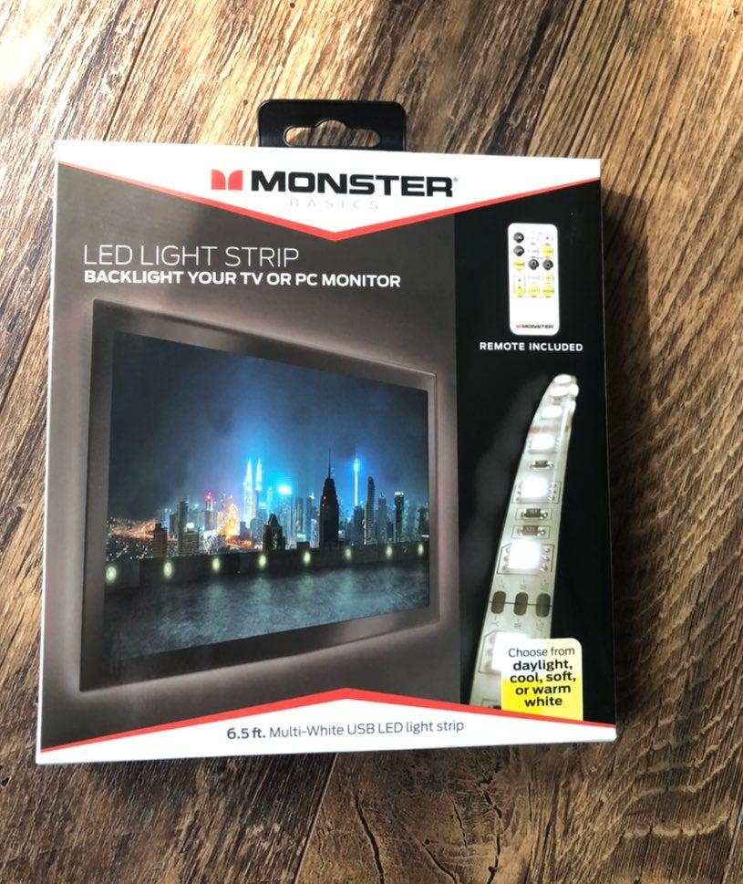 Monster Basics LED Light Strip w/remote