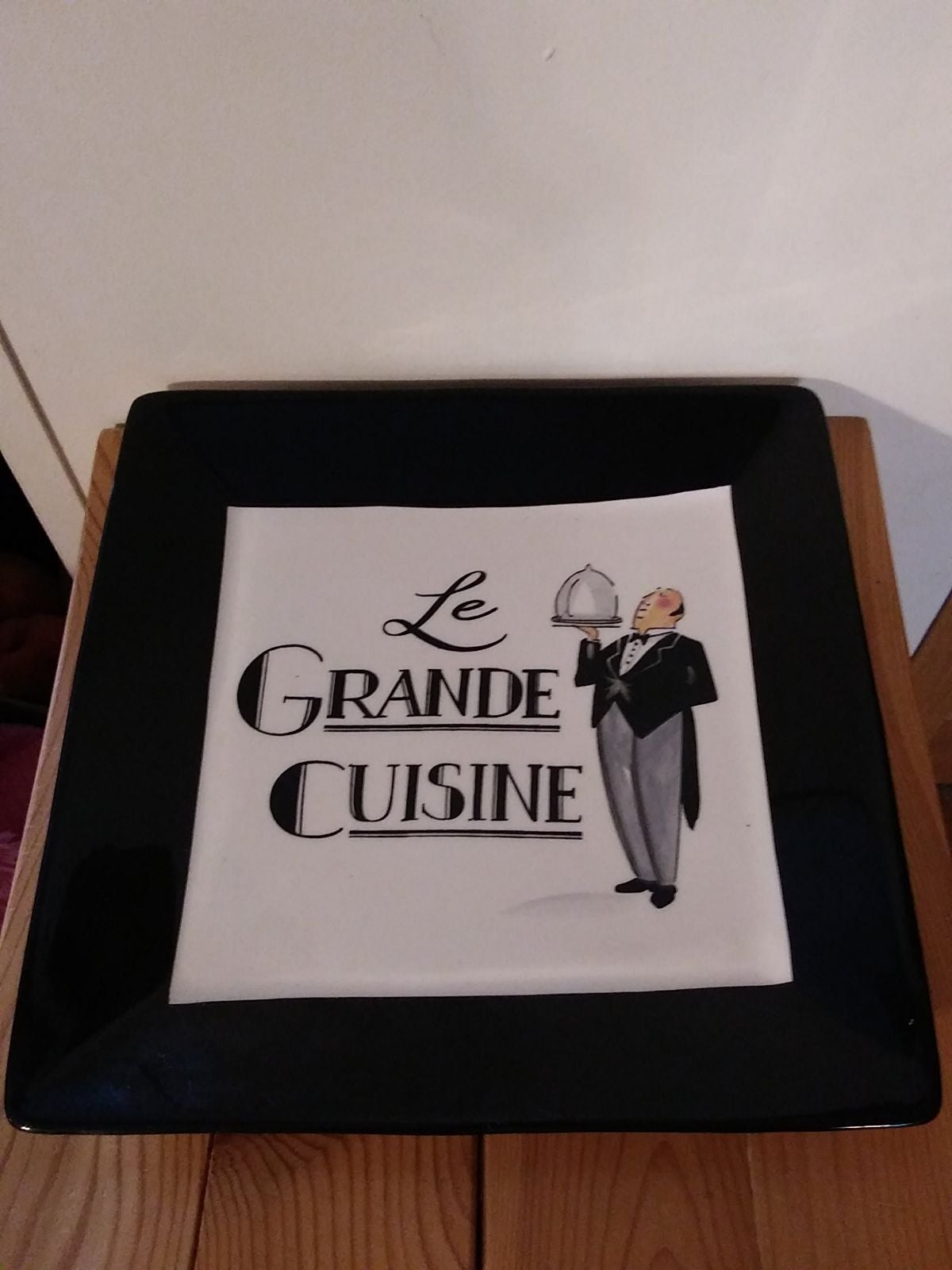 """Le Grande Cuisine"" Plate Certified Int"