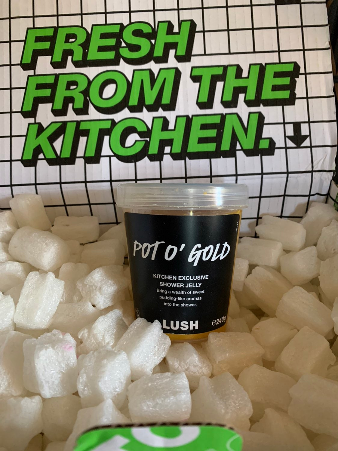 Pot O' Gold Lush Kitchen shower jelly