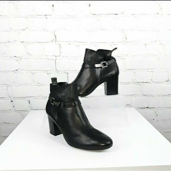 """PAUL GREEN """"Kathy"""" Leather Ankle Boot 9"""