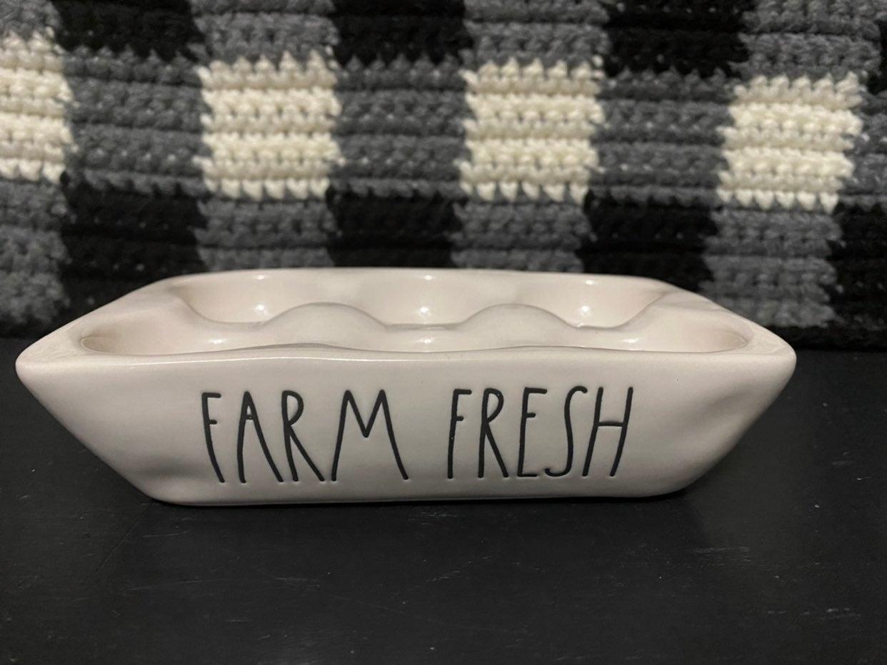 Rae Dunn Farm Fresh egg
