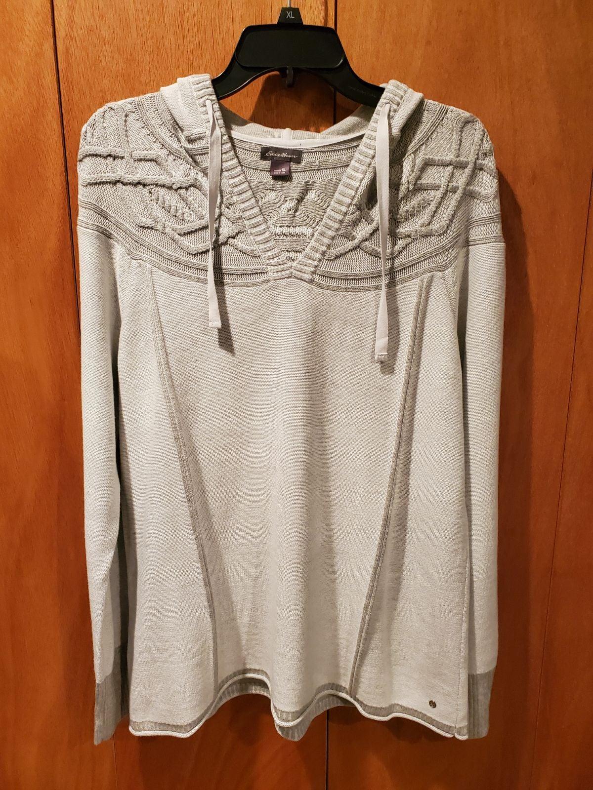 NWOT Eddie Bauer Hooded Sweater