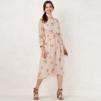 936fd4071fe Lauren Conrad Rose Bouquet Dress