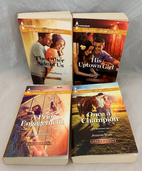 Harlequin Superromance Large Print Books
