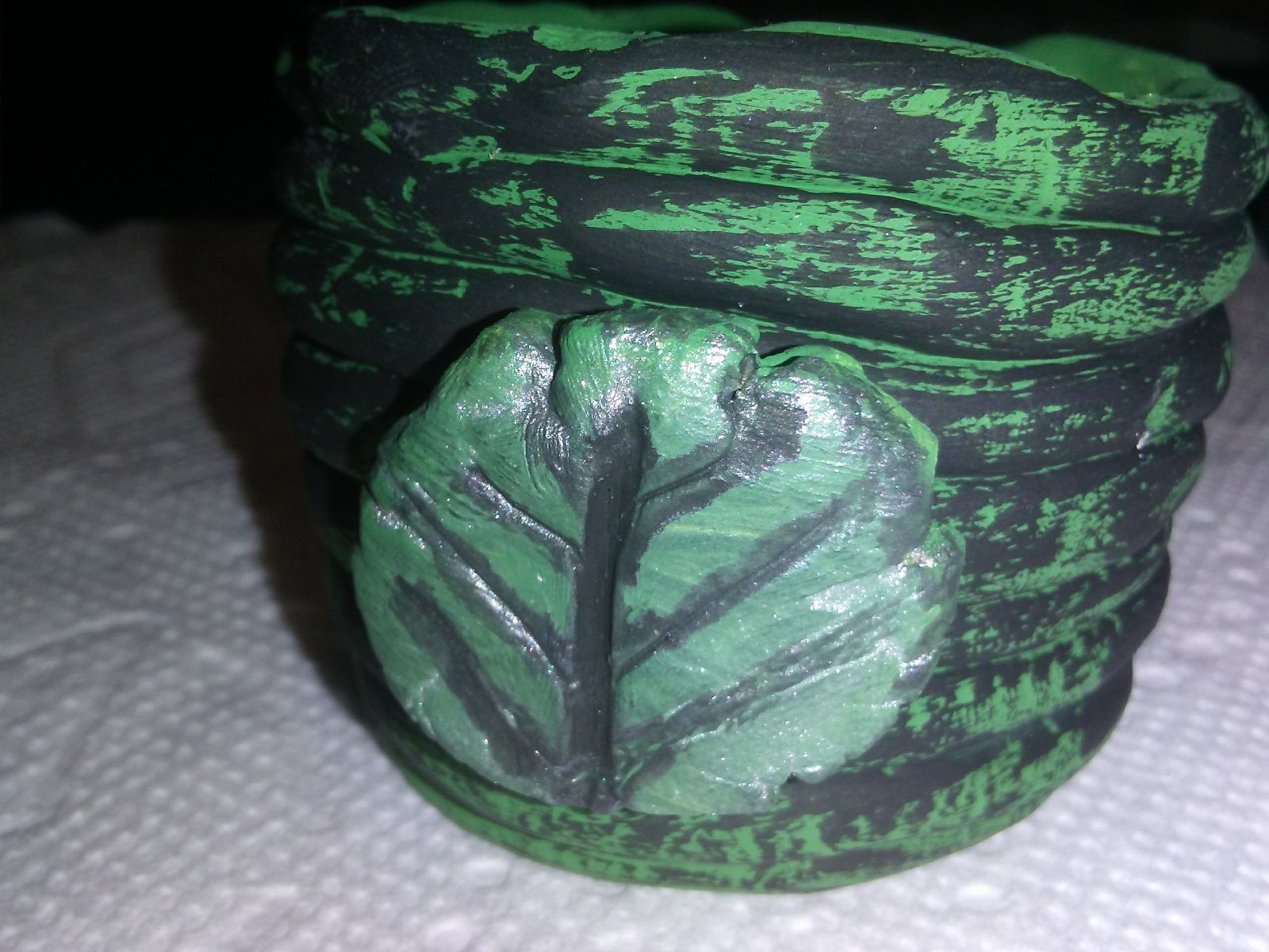 Handcrafted coil pot