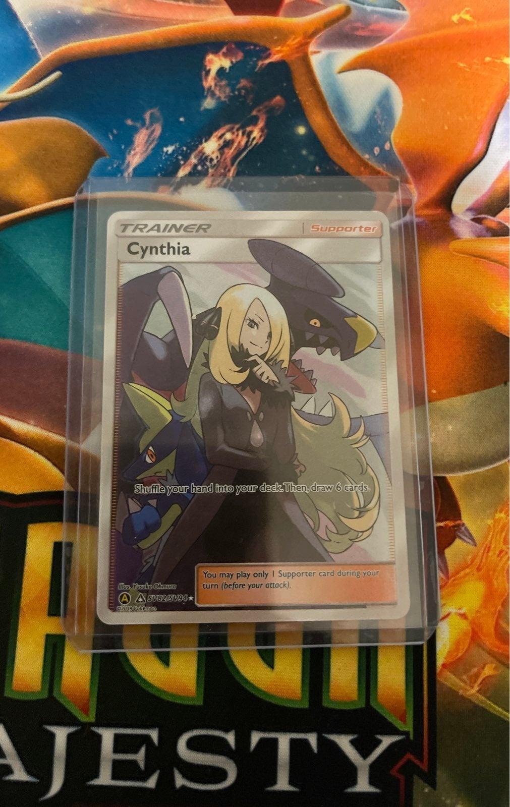 Full art pokemon cynthia