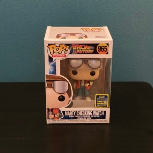 Funko Pop Marty Mcfly Back to Future LE
