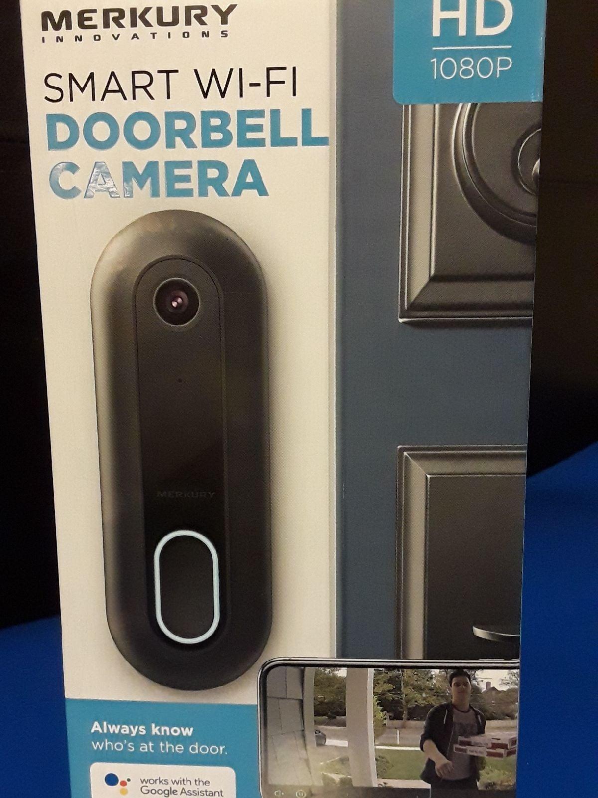 Smart wi-fi doorbell camera