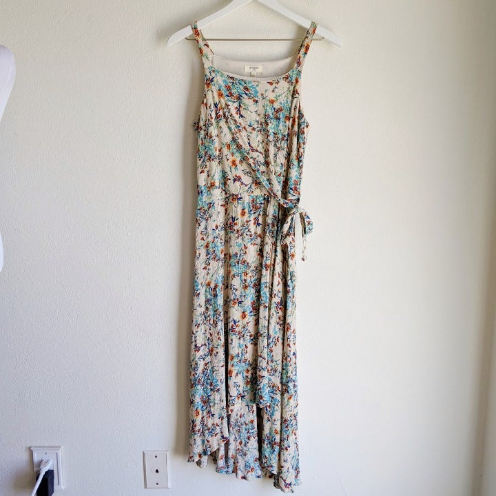 Umgee Floral Midi Dress