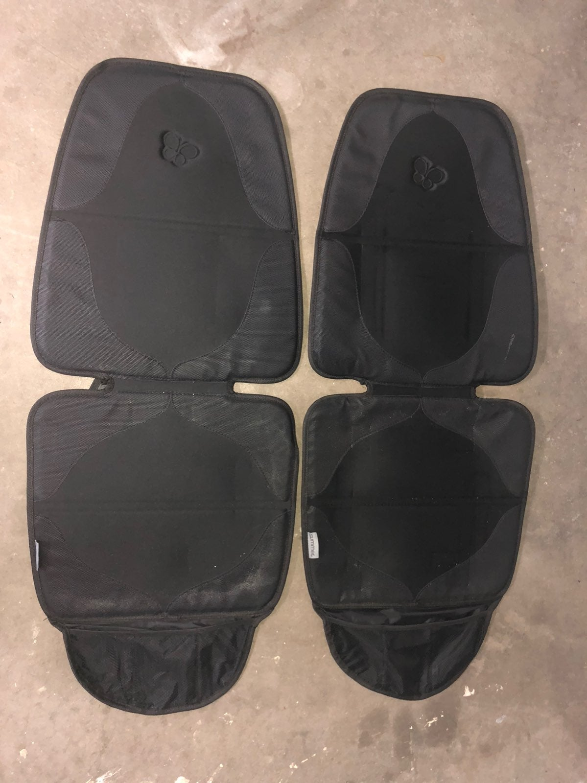 Carseat seat protector