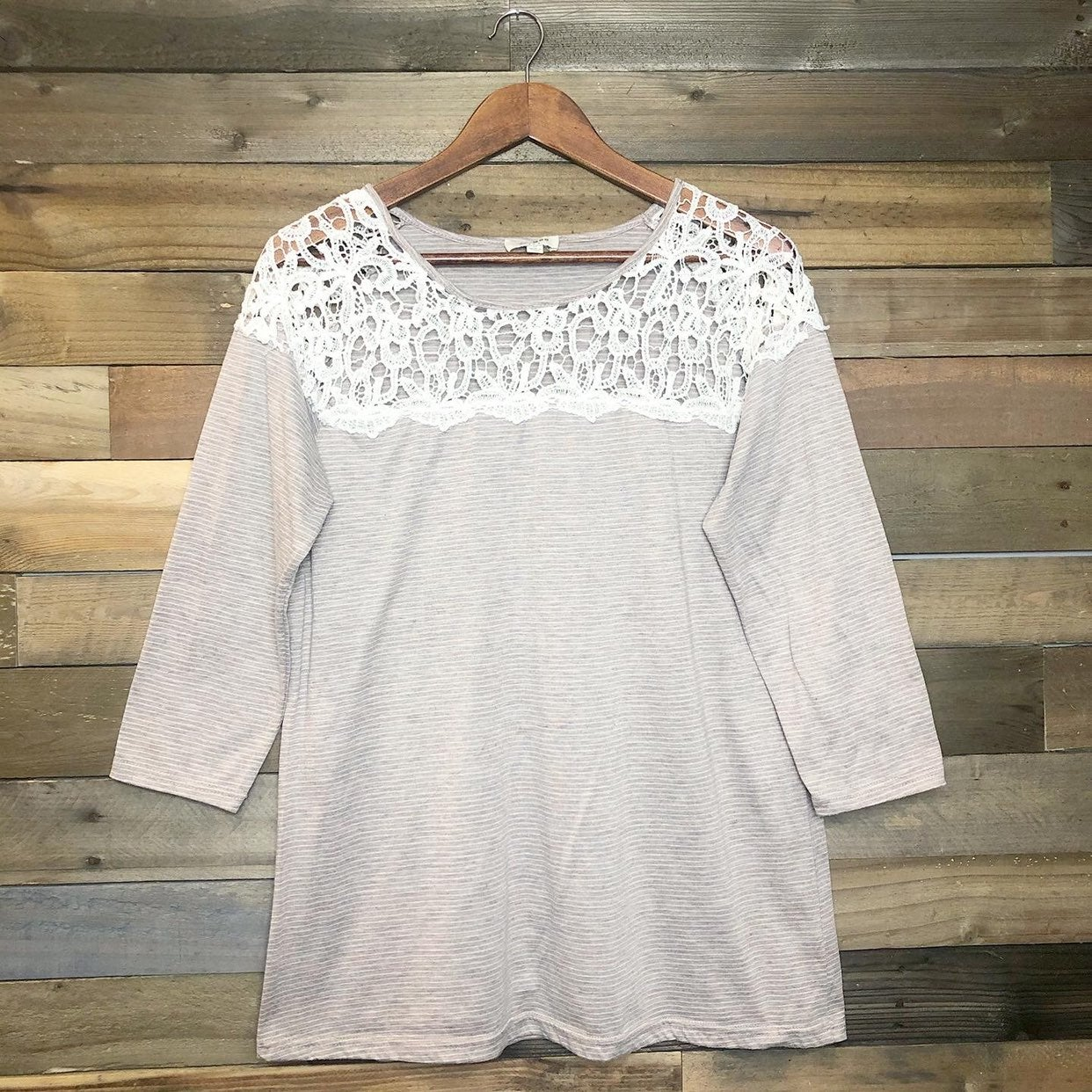 Umgee Crocheted Blouse