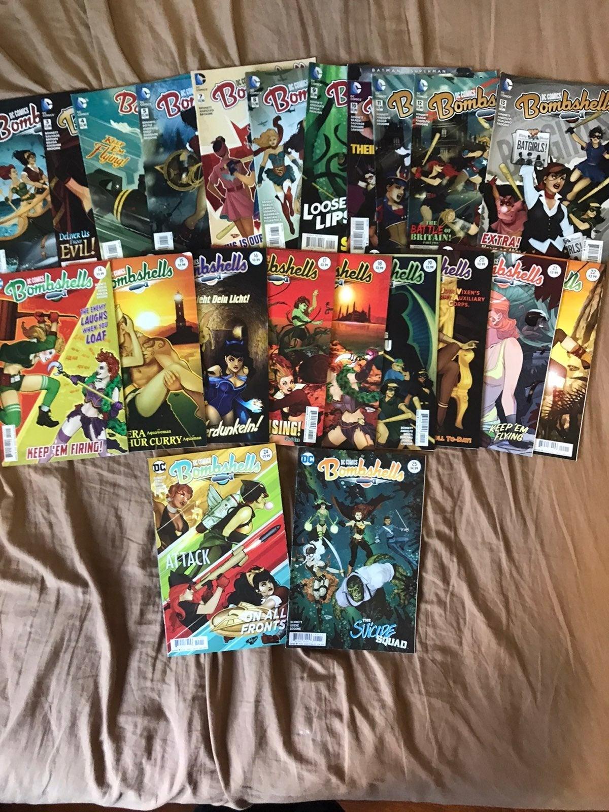 Bombshells Comic Book Lot