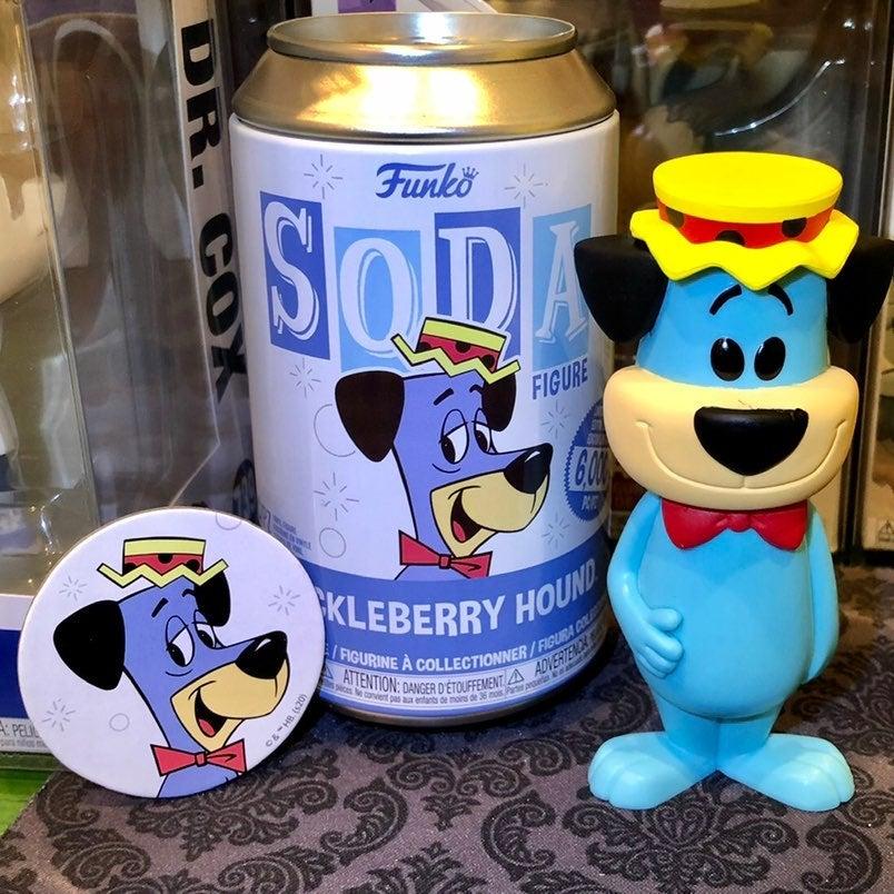Huckleberry Hound Funko Pop Soda (Blue)