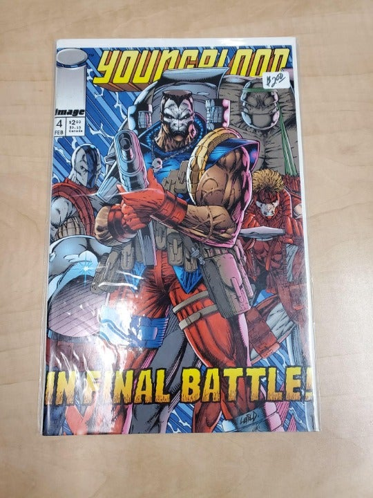 IMAGE COMICS YOUNGBLOOD IN FINAL BATTLE