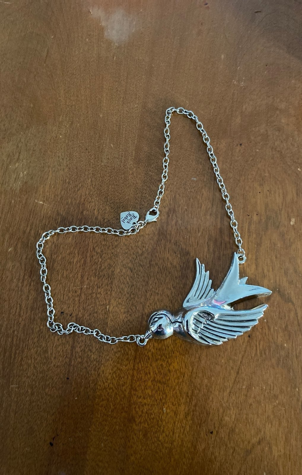 Rock Rebel swallow necklace
