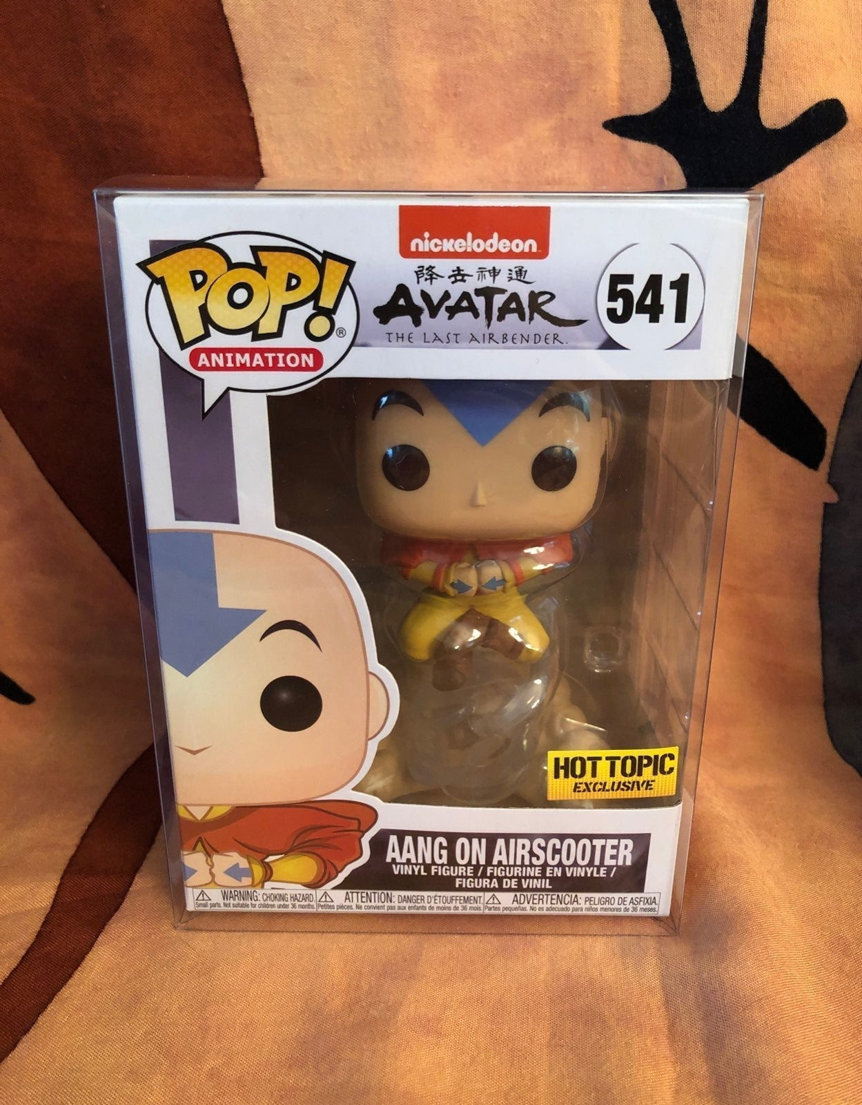 Funko Pop Aang on Airscooter HT
