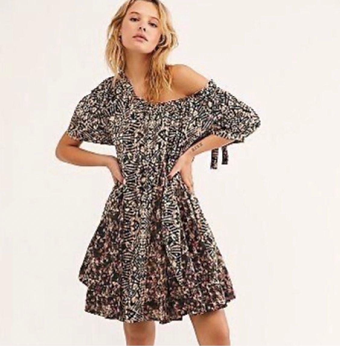 Free People Jet Set Mini Dress