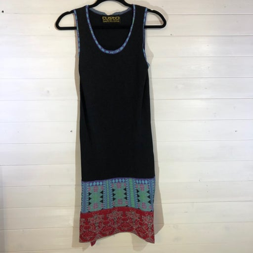 Custo Barcelona Black Sweater Dress