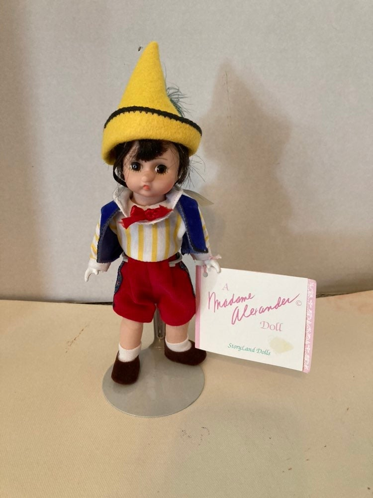 "MADAME ALEXANDER ""Pinocchio"" 8"" Doll"
