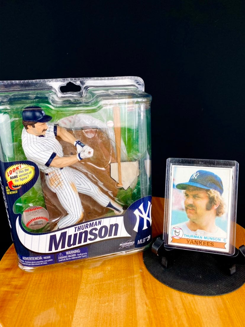 Thurman Munson Mcfarlane Bundle