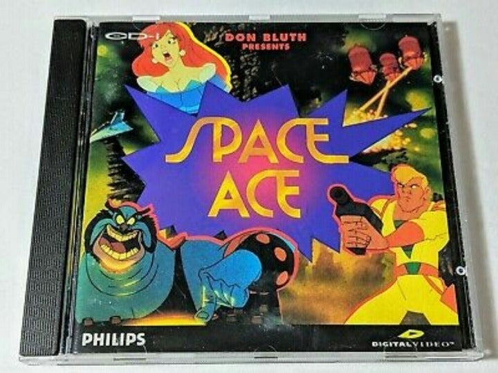 Space Ace CD-I PHILLIPS COMPLETE