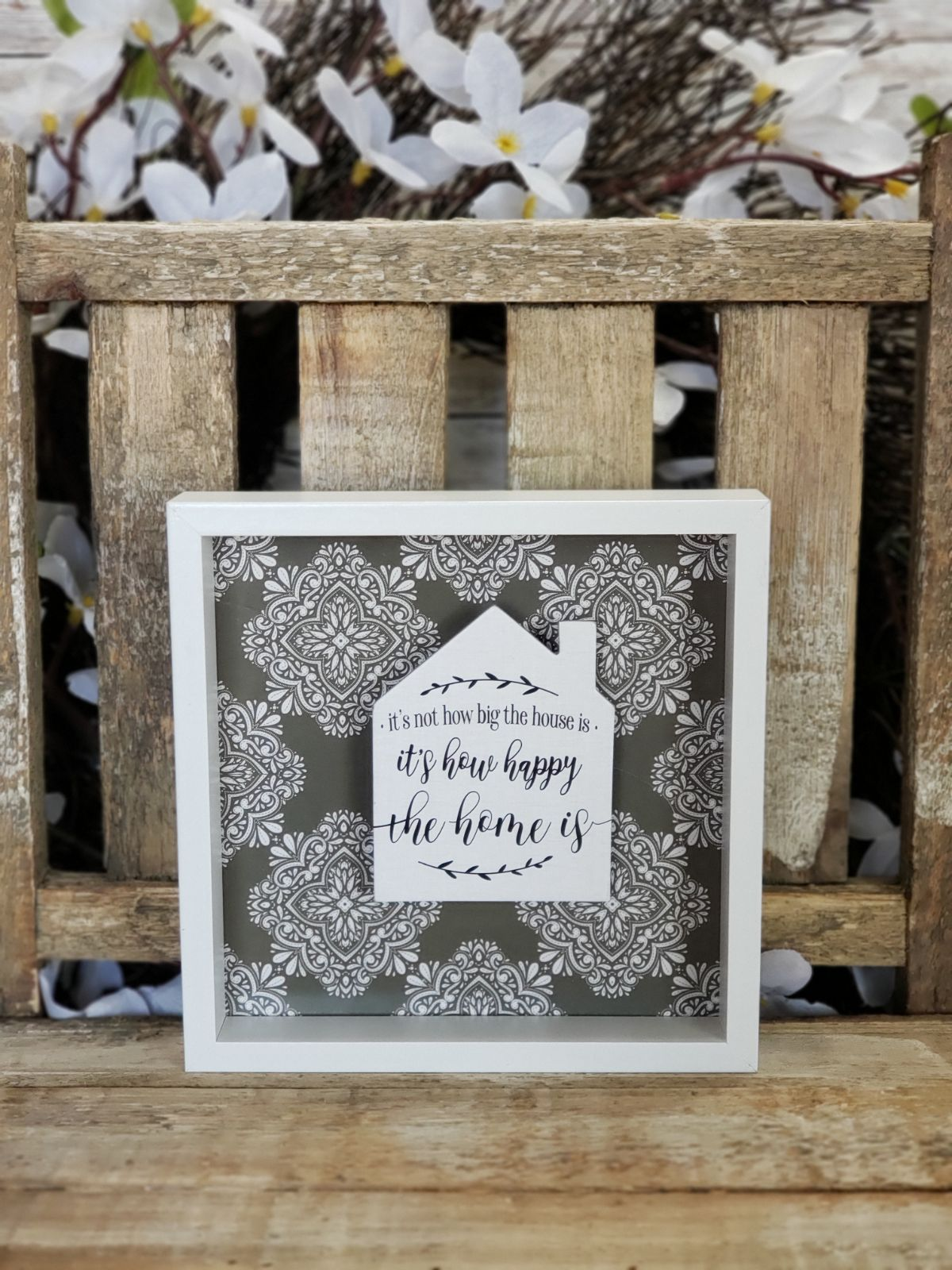 Freestanding Home Sign