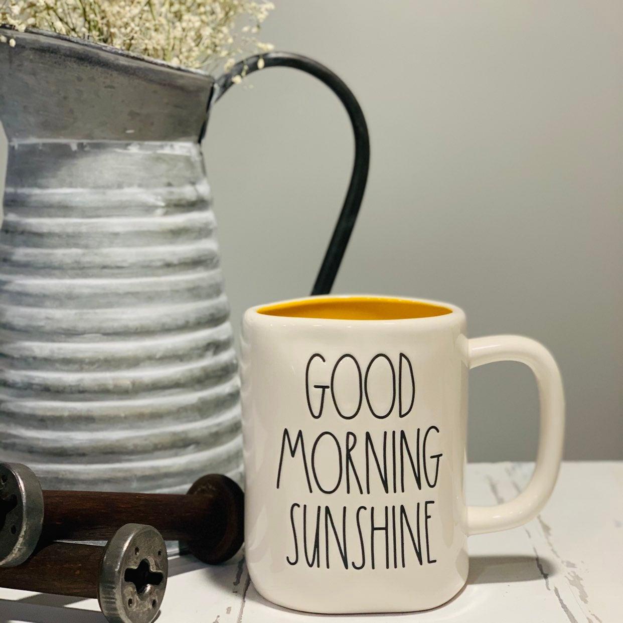 Rae Dunn Good Morning Sunshine Mug