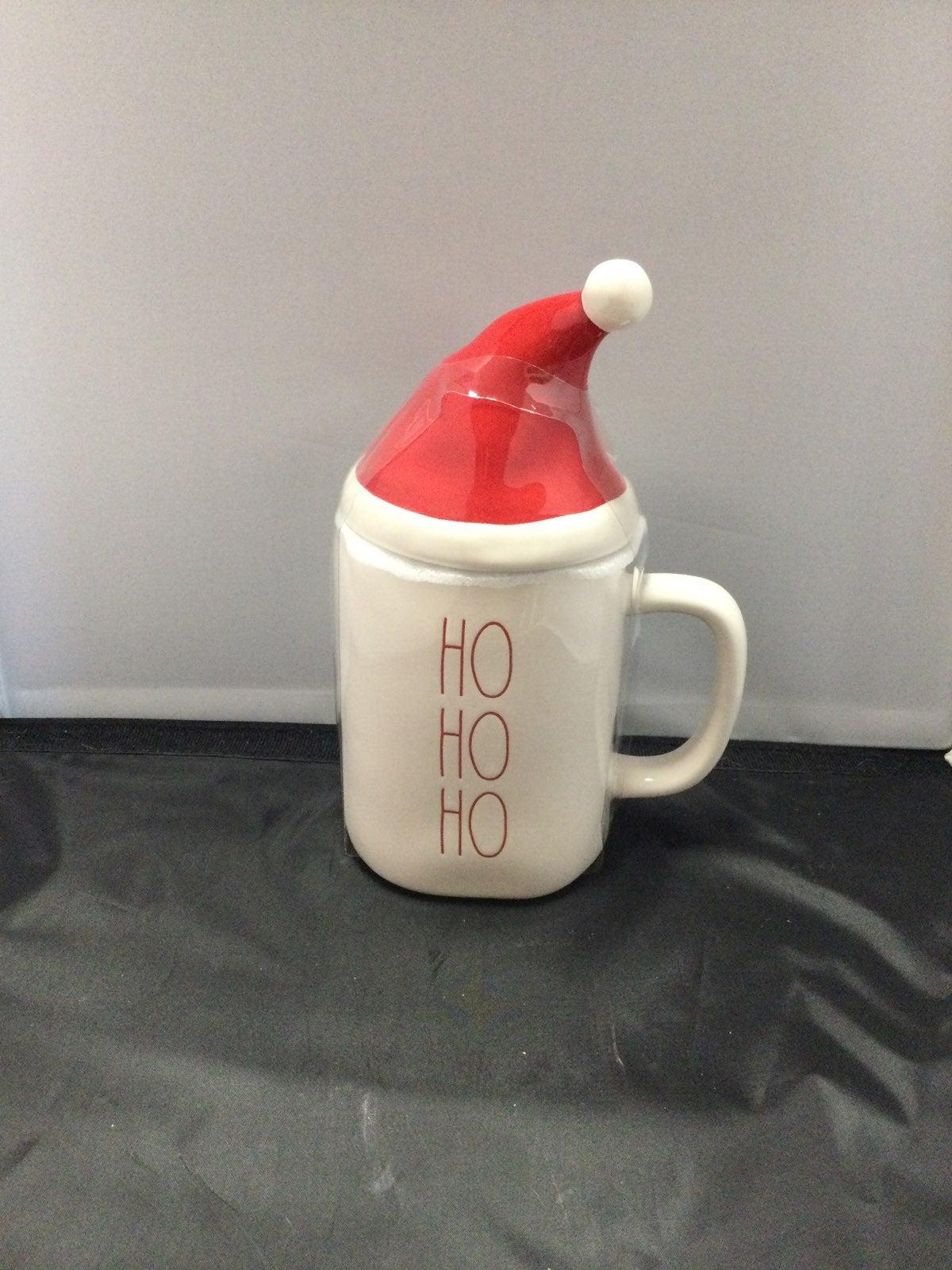 Rae Dunn Santa Hat mug