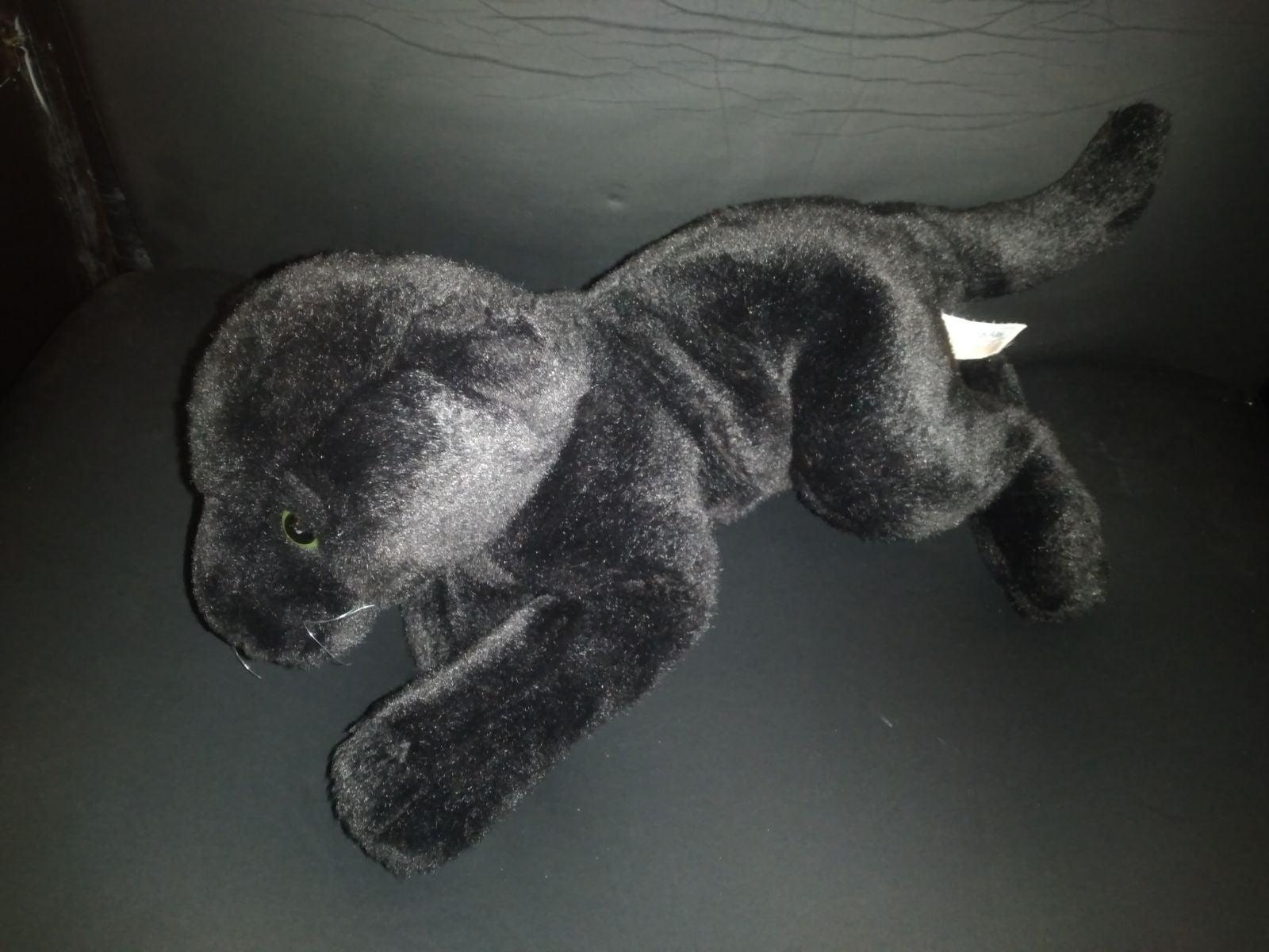 """Toys R Us Animal Alley Black Jaguar 14"""""""