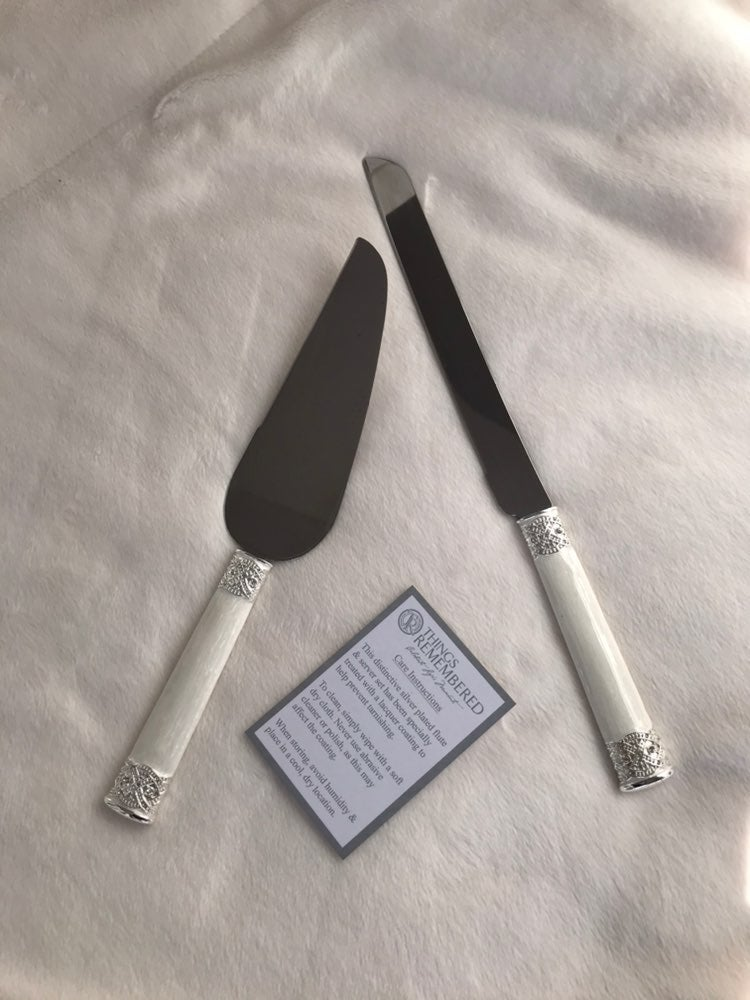 Wedding Cake Knife Set