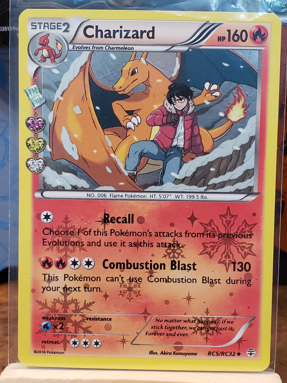 Radiant Collection Charizard Holo M