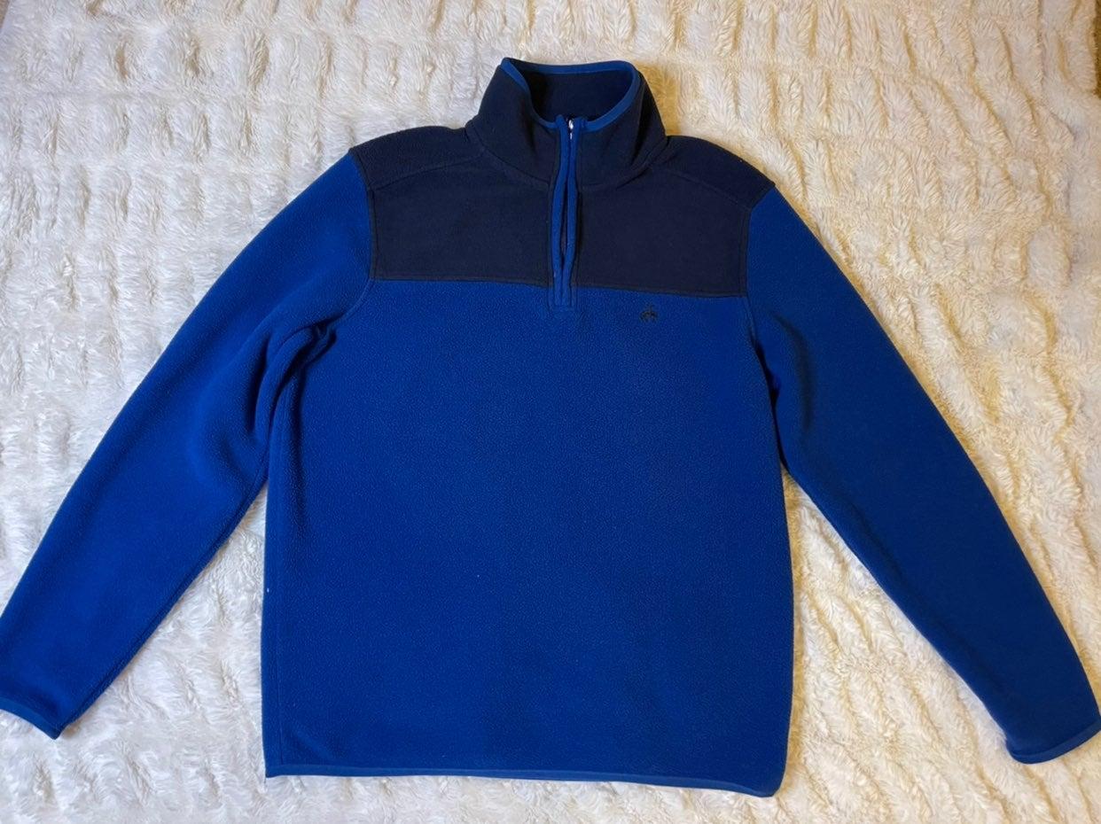 Brooks Brothers fleece pullover sweater