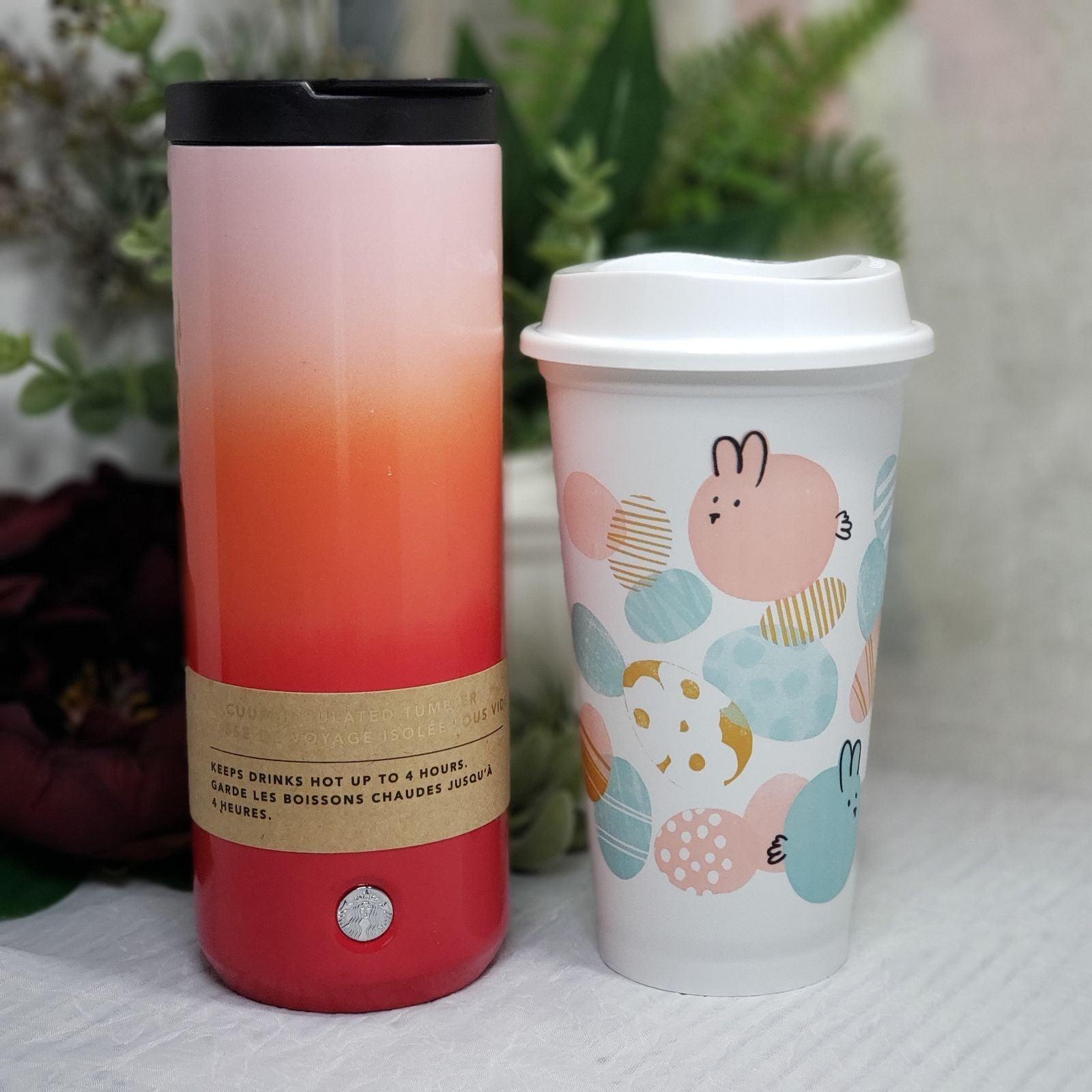 Starbucks 2019 Valentine Pink Ombre Tumb