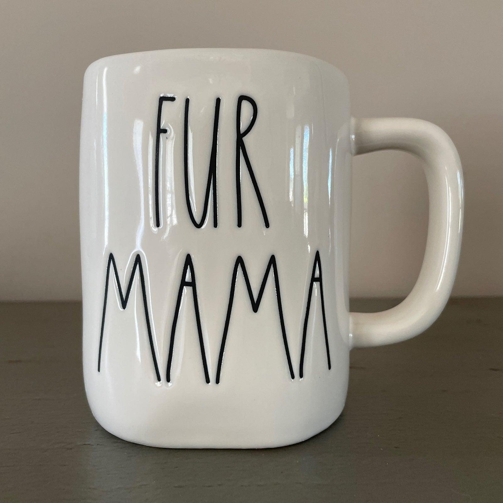 Rae Dunn FUR MAMA Mug