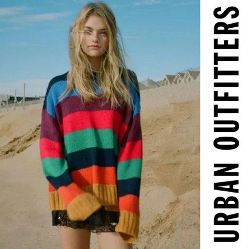 Urban Outfitters Kari Rainbow sweater