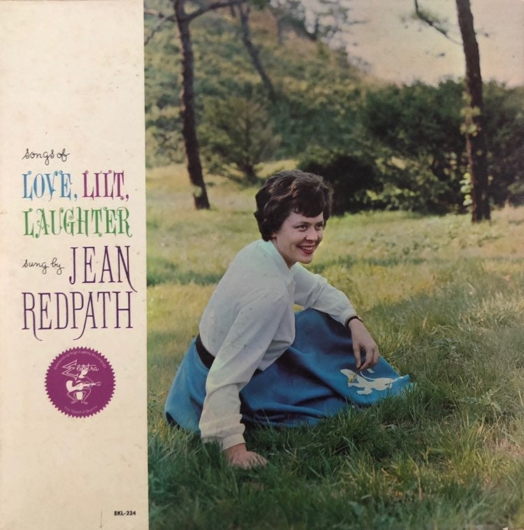 Jean Redpath Vintage Vinyl Record