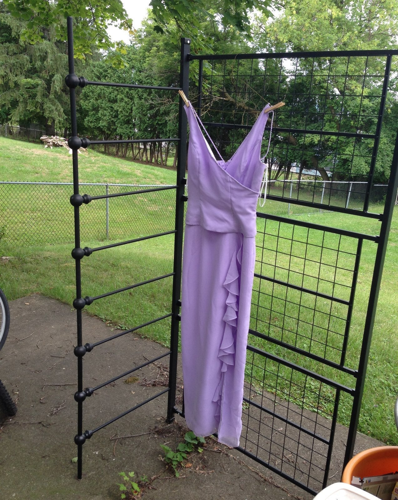 Size 12 purple bridesmaid dress