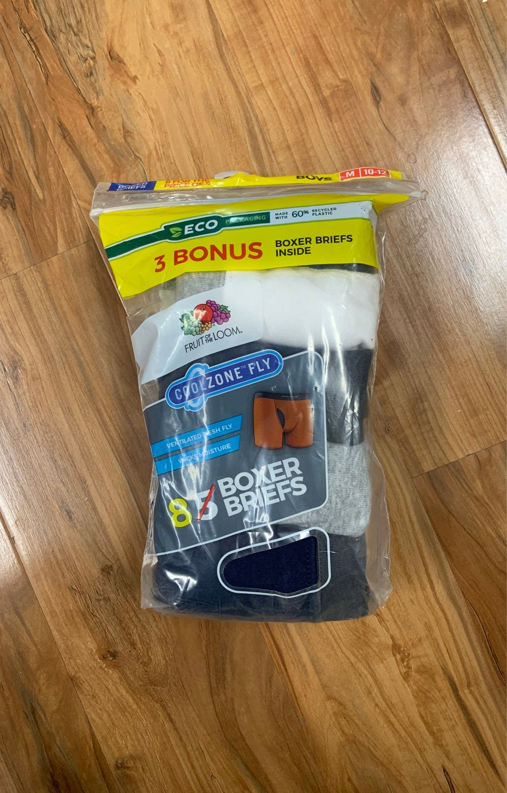 8 new Boxers boys size M 10-12