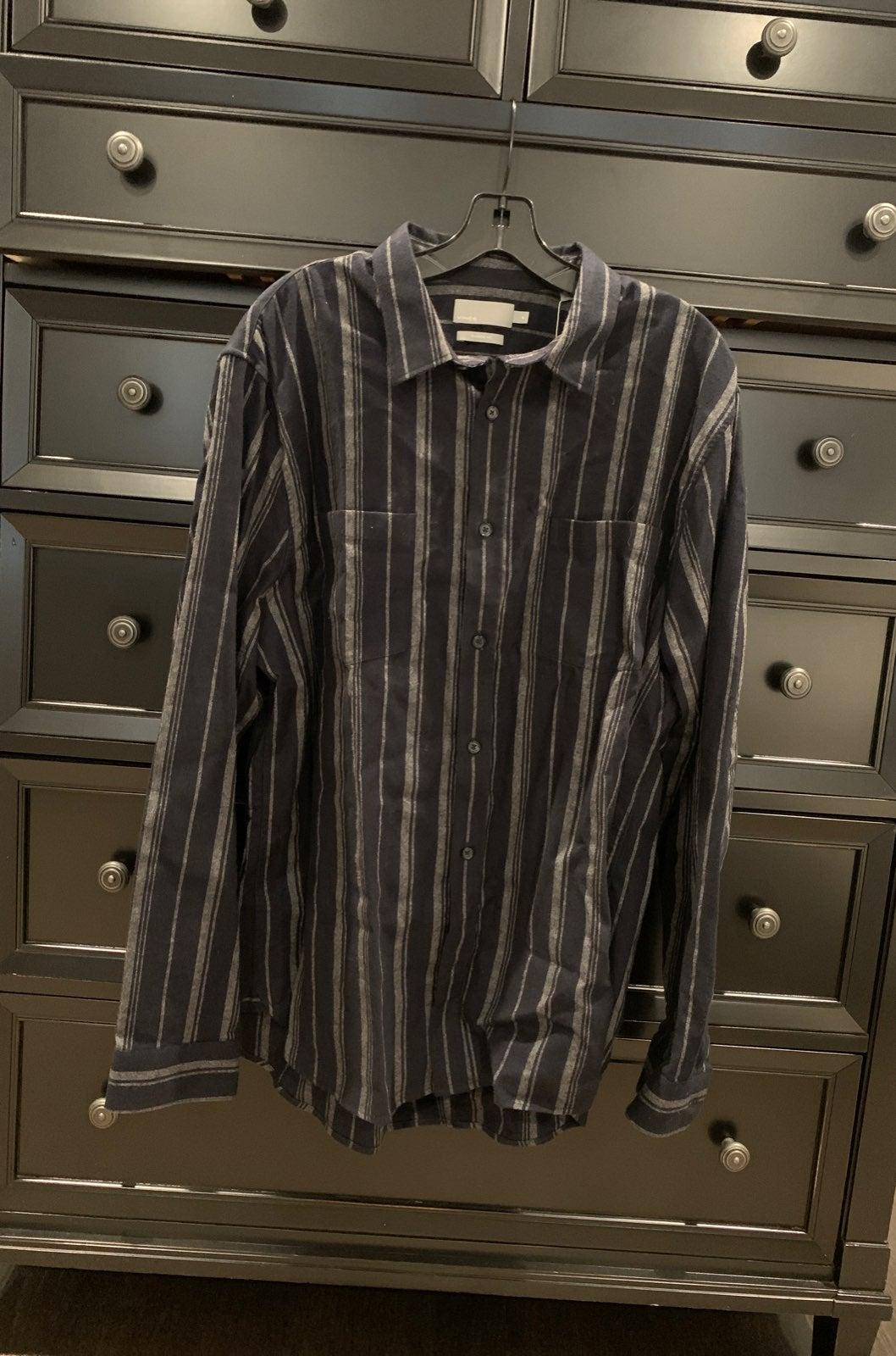 Flannel Vince shirt NWT sz XL