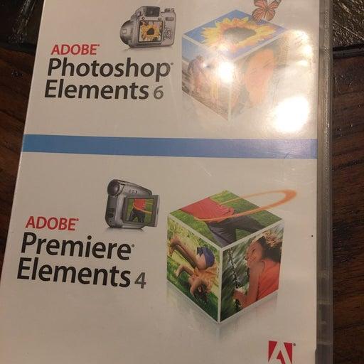 Adobe Photoshop 6 & Premier 4 Elements