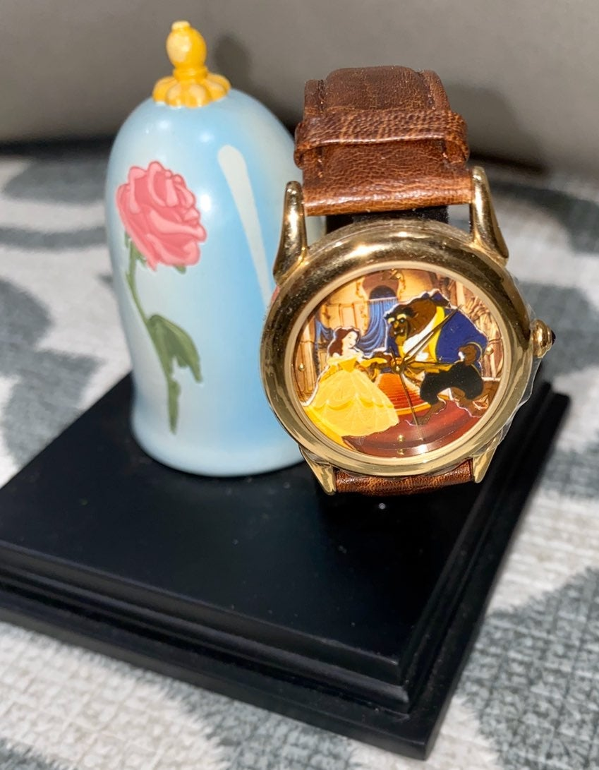 Beauty and The Beast Collectors Watch