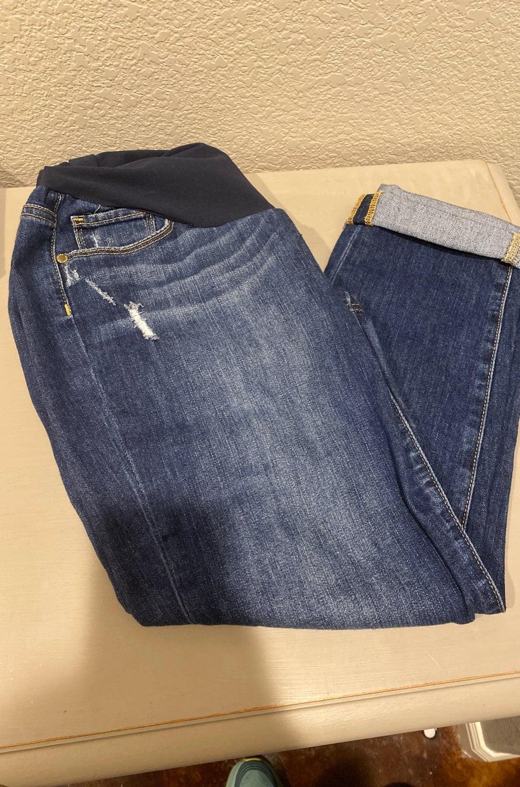 Paige denim maternity jeans size 29