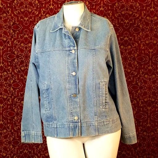 CROSSROADS Jean Jacket XL