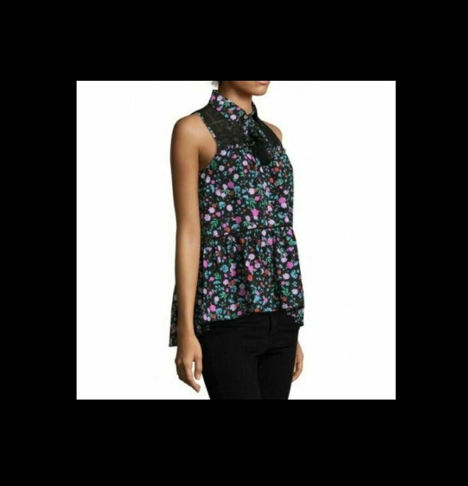 Kate Spade New York Greenhouse Lace Top