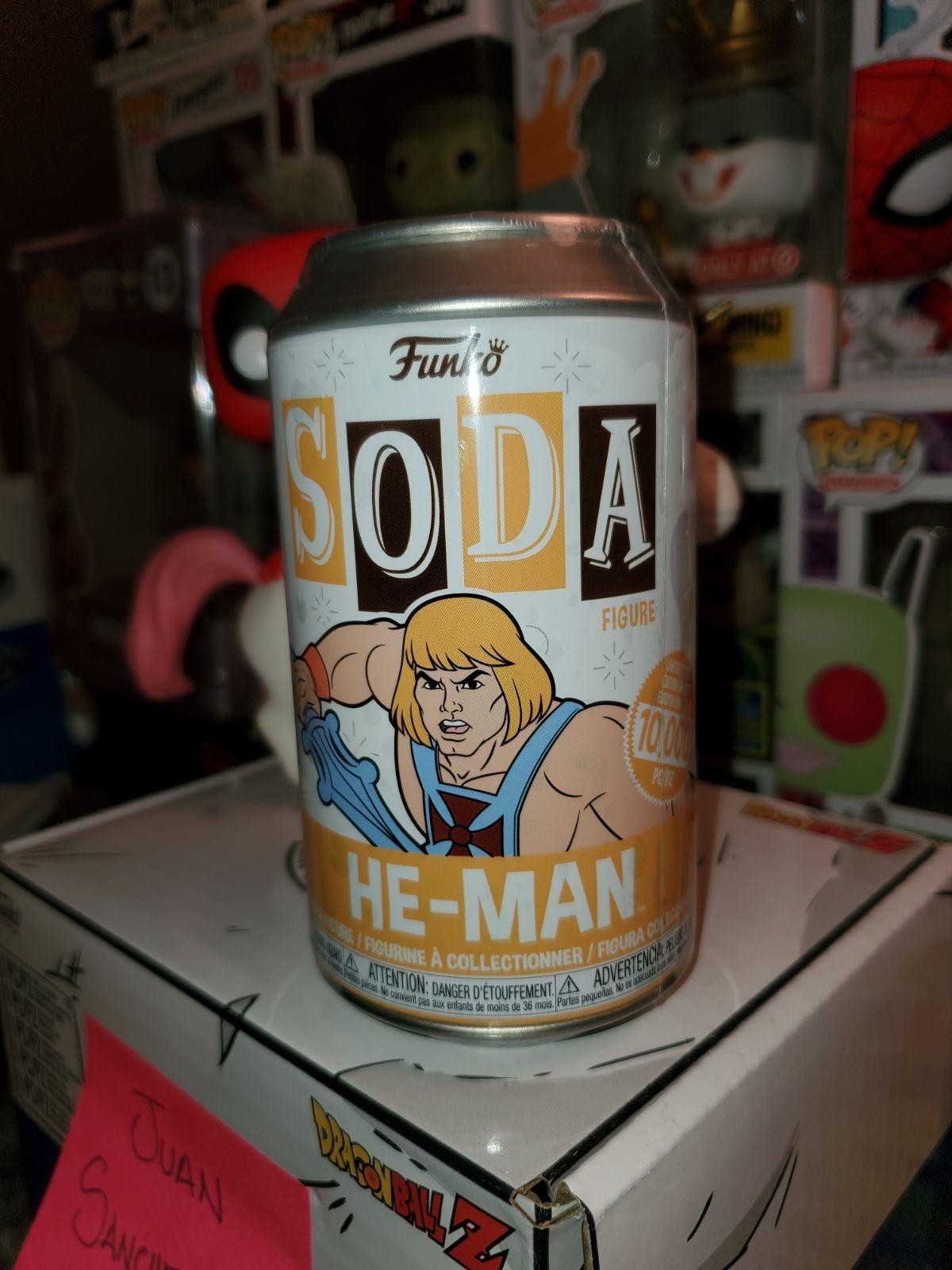 SEALED HE-MAN SODA