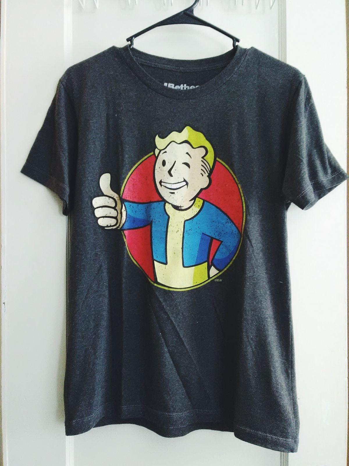 ✨FALLOUT vault boy shirt