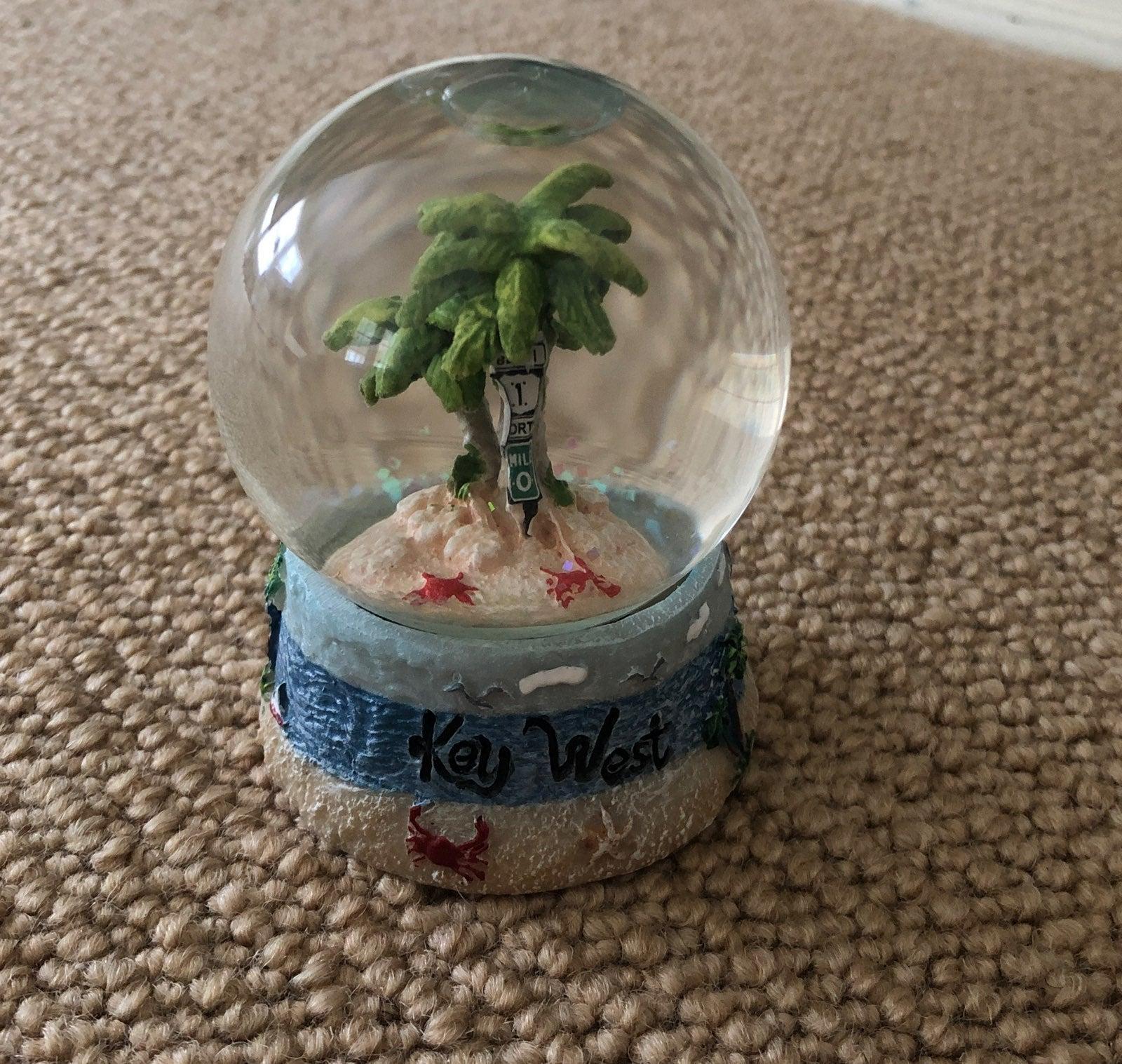 Key West Snow Globe