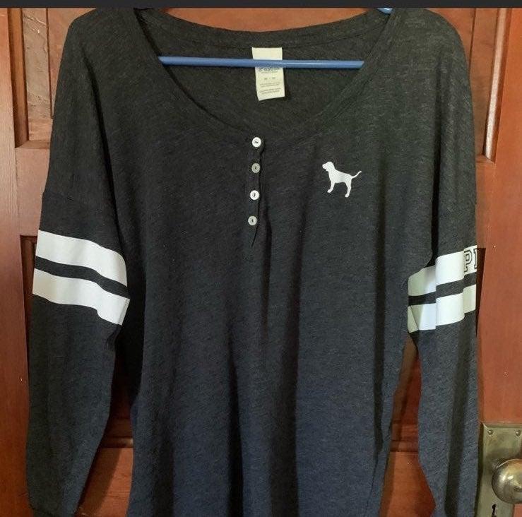 PINK Oversized longsleeved shirt