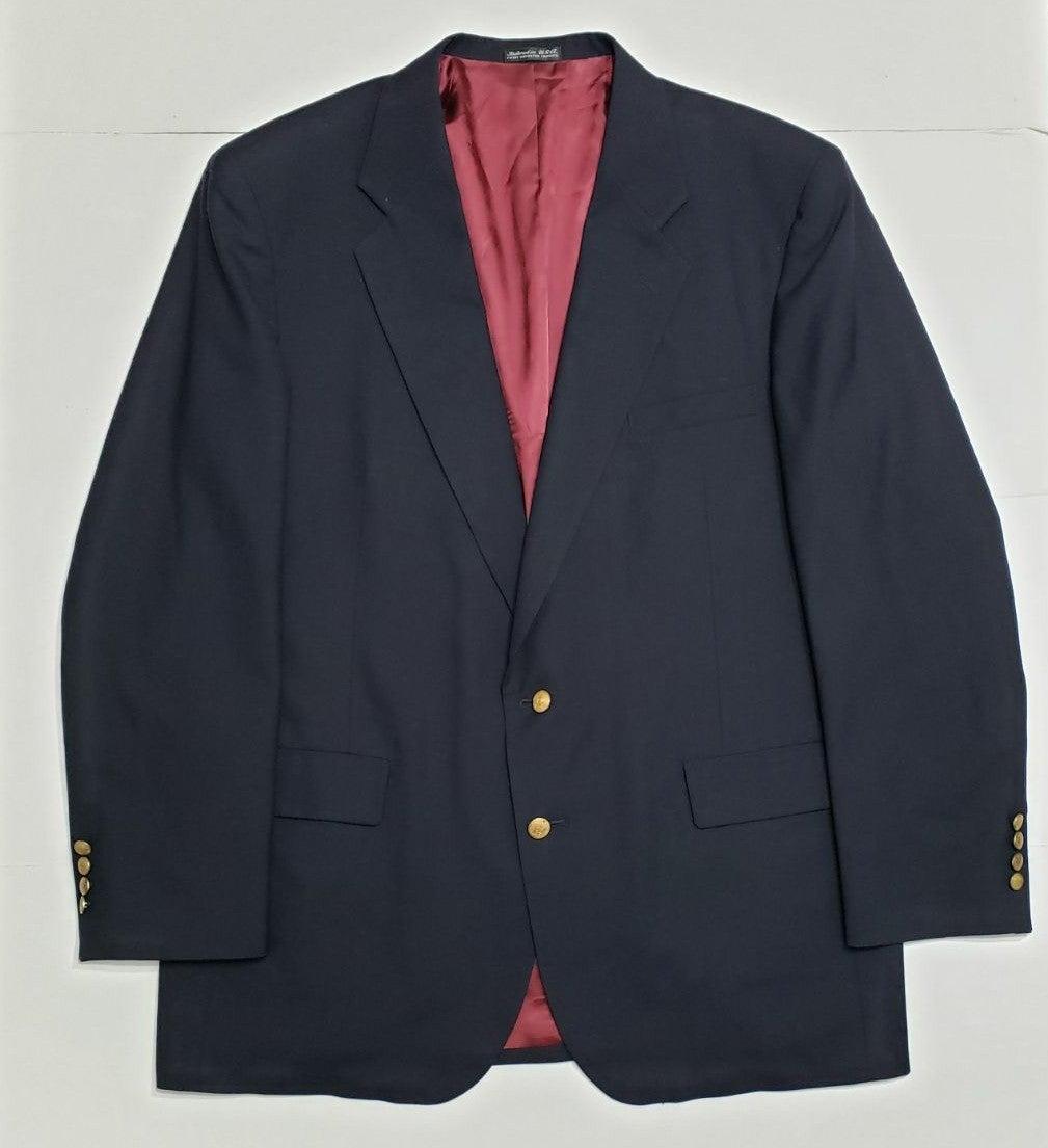 Vintage Varsity Club 46L Wool Blazer