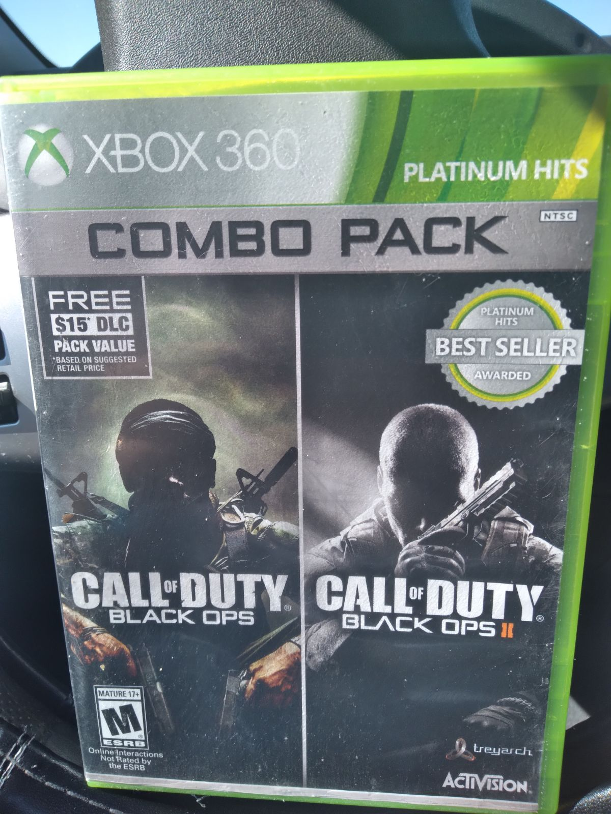 Call of Duty Black Ops 1 & 2 on Xbox 360